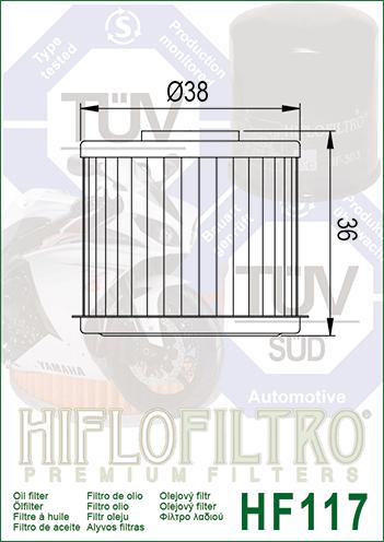 /Ölfilter Hiflo Filter DCT Getriebe NC 750 S ABS RC88 16-17