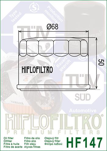 18947//54 Filtro de aire HIFLOFILTRO