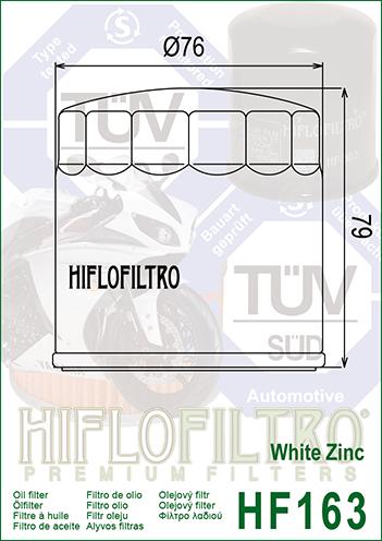 3X HIFLO Premium Ölfilter HF156