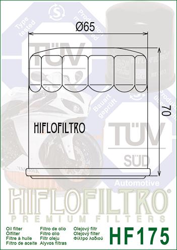 /Ölfilter HIFLOFILTRO f/ür Honda CB 750/F2/Seven Fifty S RC42/1995/73/PS 54/kw