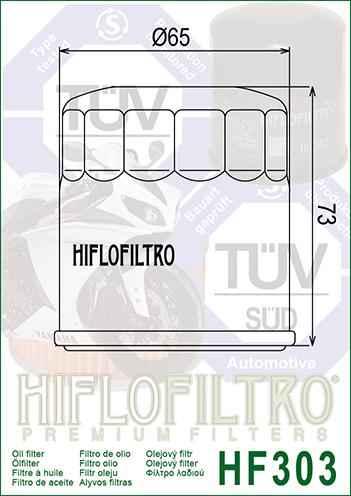 Luftfilter Hiflo HFA1705 f/ür H o n d a