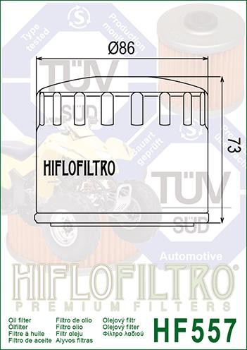 /Ölfilter Hiflo Seventy Five 125 15-16